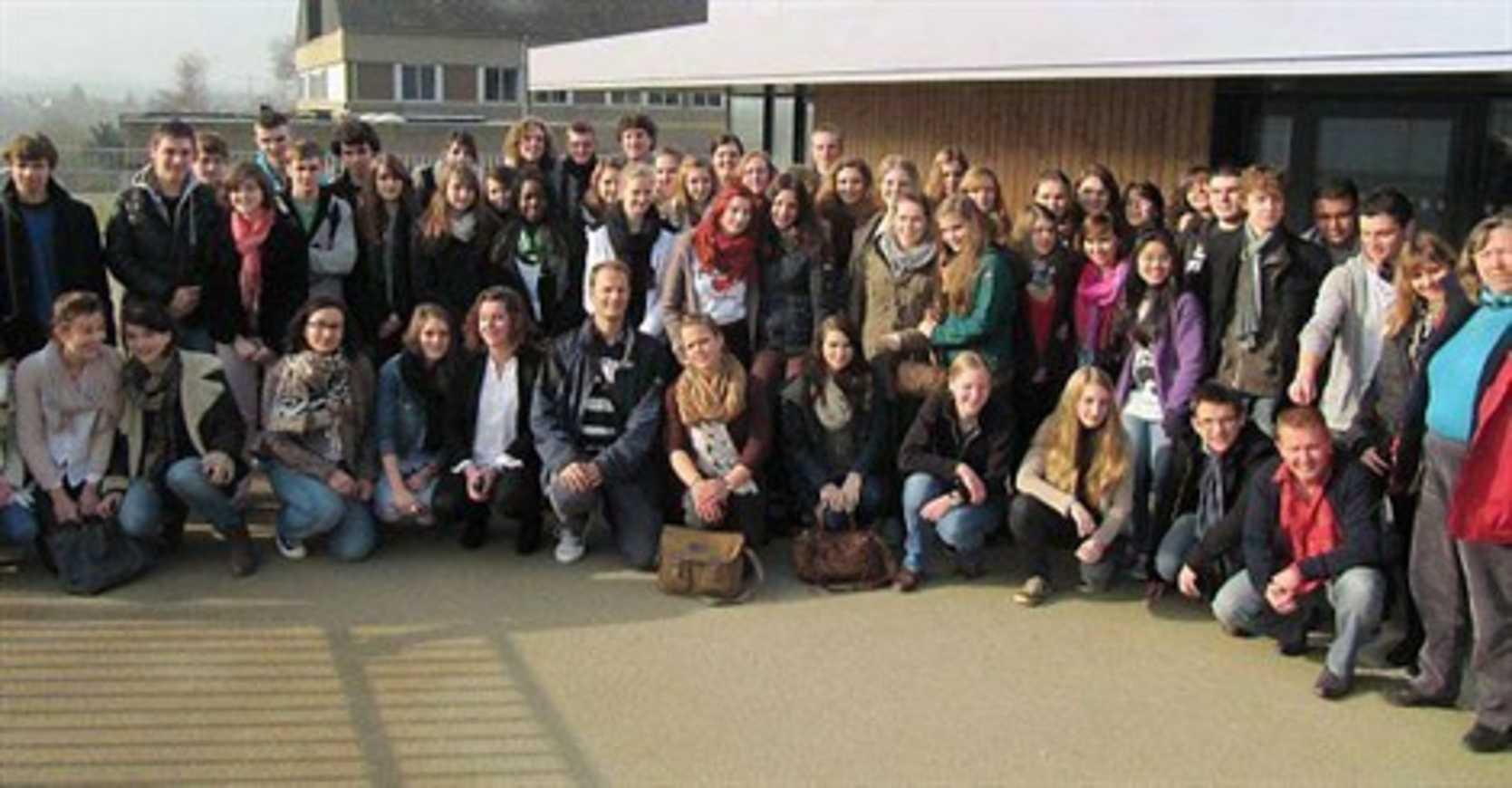 Des correspondants allemands au lycée Henri-Avril (article OF) 0