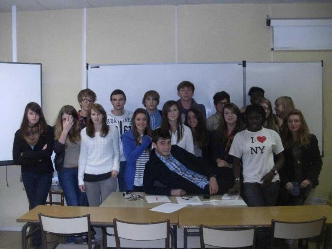 Les délégués élèves ont réfléchi aux travaux à effectuer au lycée 0