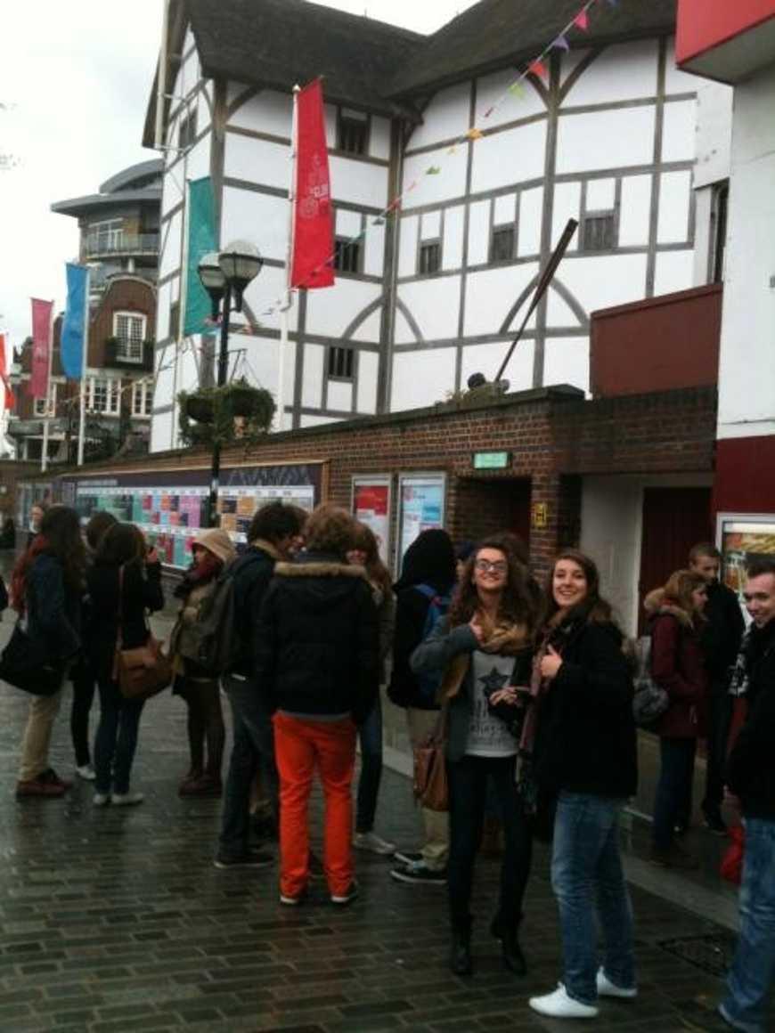 Visite du Globe Theatre pour les euros anglais 0