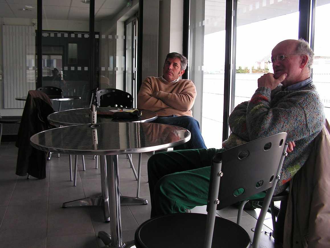Jean Pierre Mathias, conteur a échangé avec les élèves de l''option gallo 0