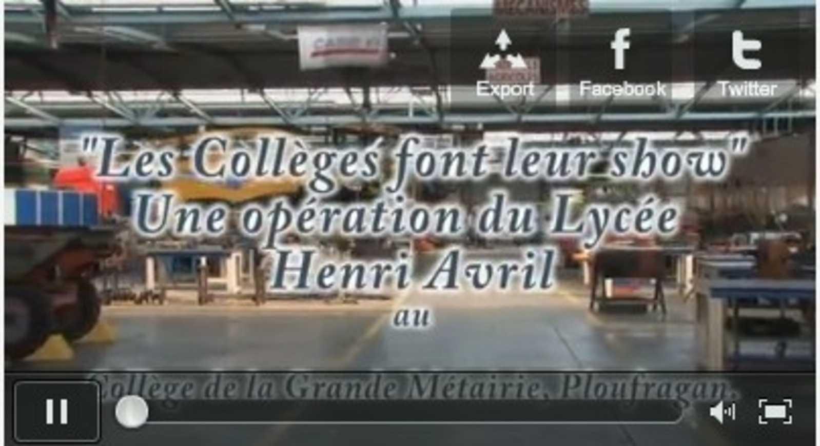 Les collèges font leur show avec le lycée Henri Avril 0