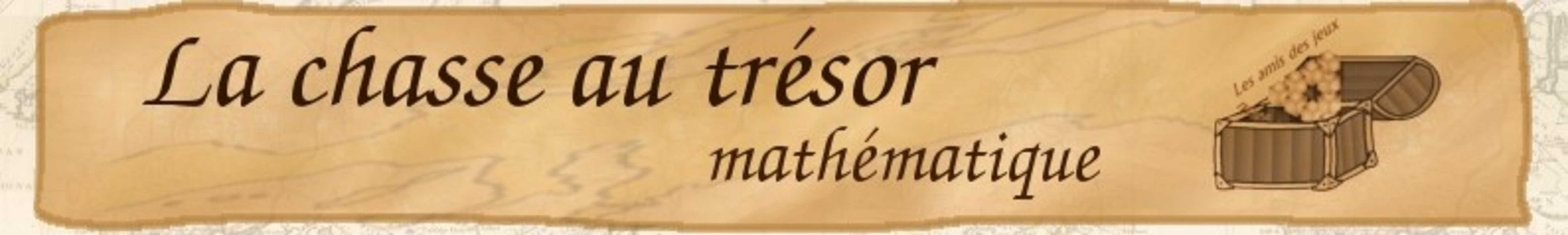 Chasse au trésor mathématique 0