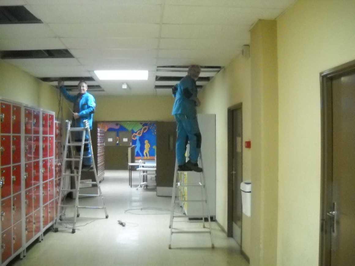 Préparation de la rénovation des salles C30 et C32 0