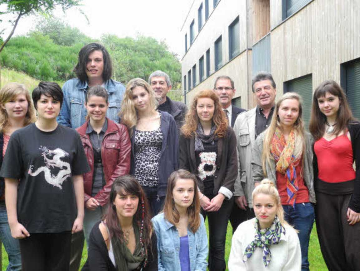 Quatorze élèves au Festival d''Avignon (article Télégramme) 0