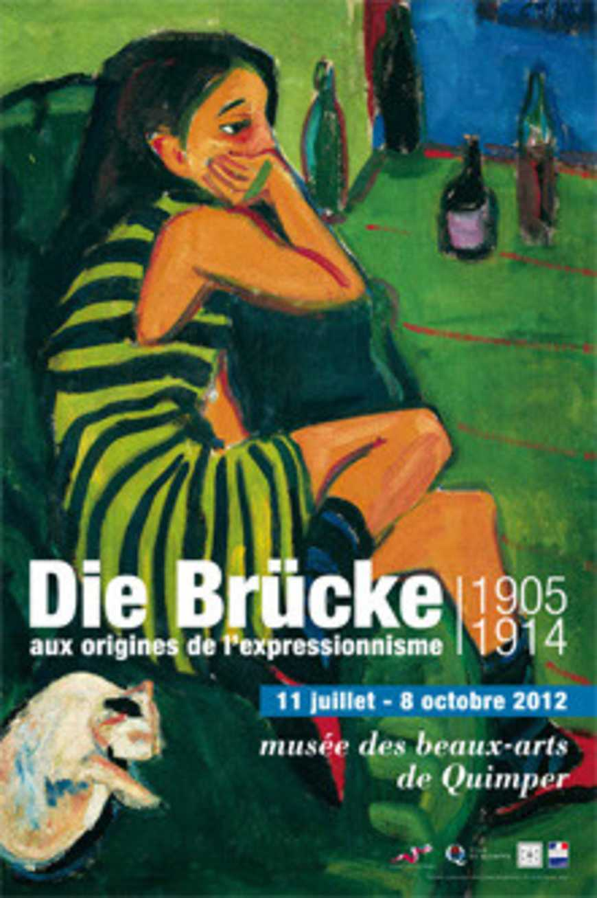 Les terminales euro allemand ont visité l''exposition : ''''Die Brücke, aux origines de l''expressionnisme allemand'''' 0
