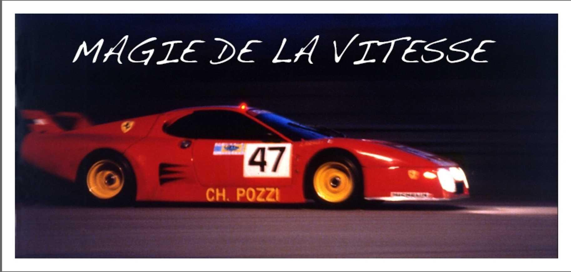 """Magie de la vitesse"" : exposition de Jean Pierre Corbel 0"