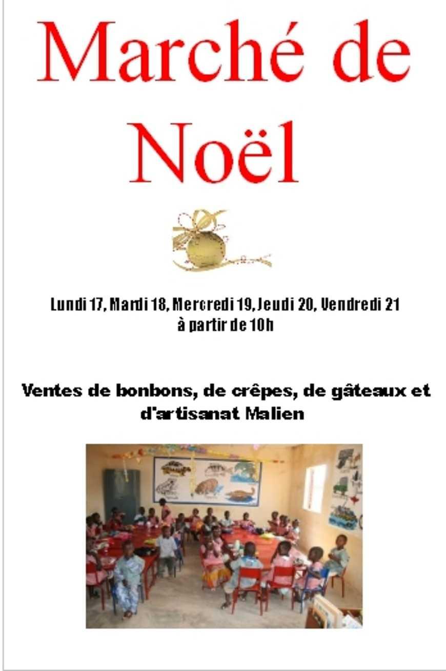 """Marché de Noël pour """"les Ptits du Mali"""" 0"""