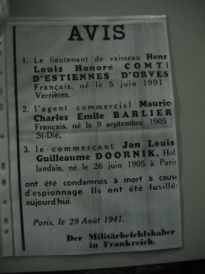 Visite d''un ancien résistant au Lycée Henri Avril dscn3544