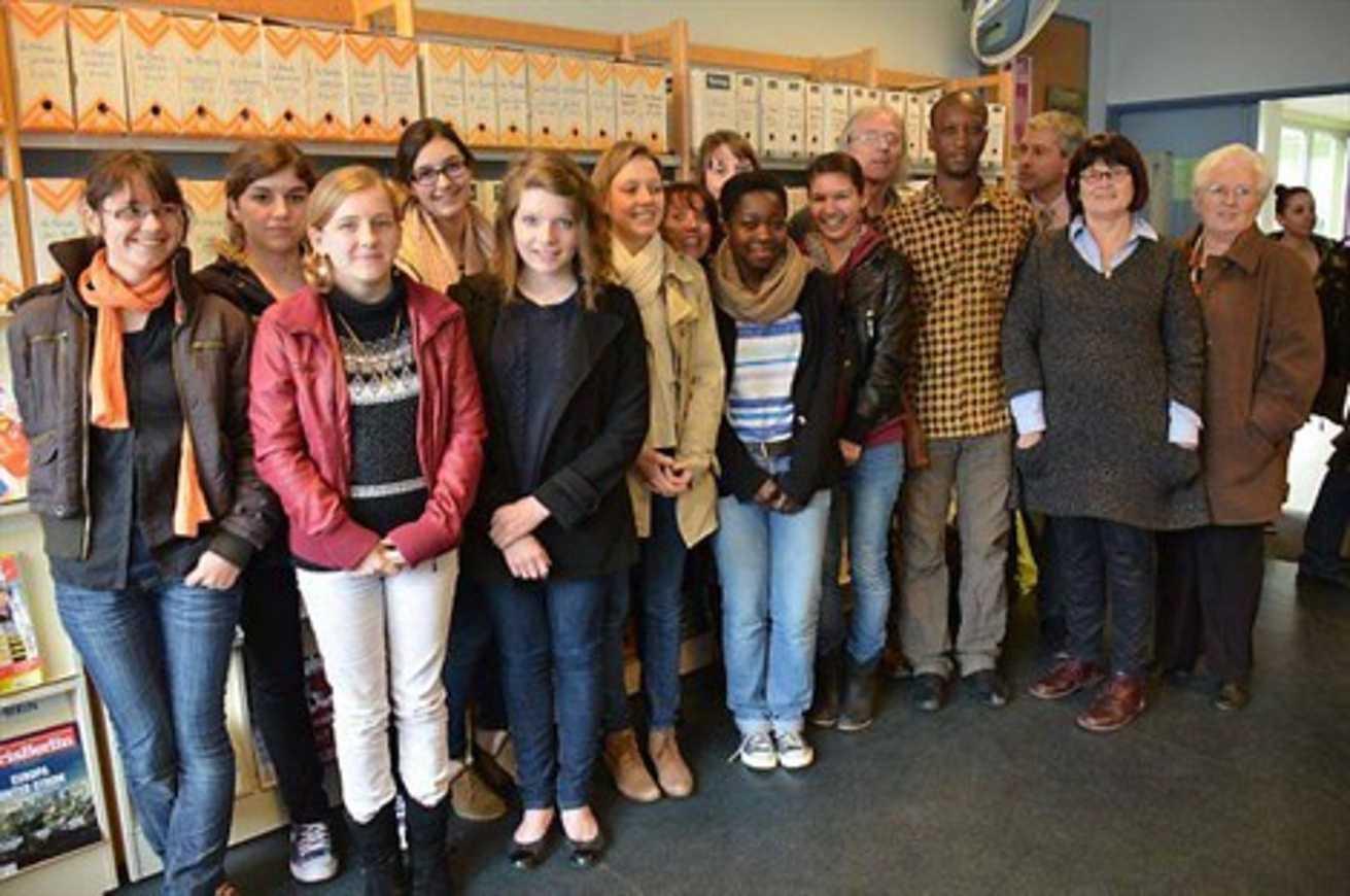 Henri-Avril : Mamadou Bah à la rencontre des élèves (OF) 0