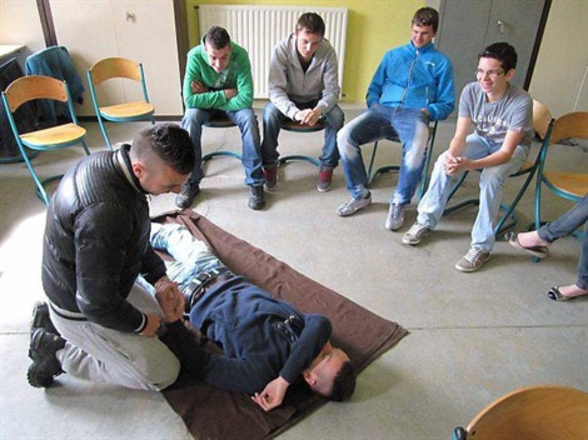 Lycée Henri-Avril : des cours de secourisme dispensés (OF) 0